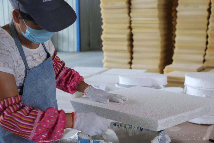 Ceramic Foam Filter Manufacturing Process