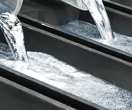 aluminum molten