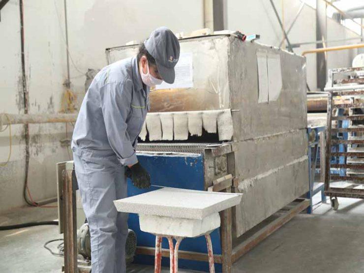 Ceramic Foam Filter Cff-A For Aluminum Casting