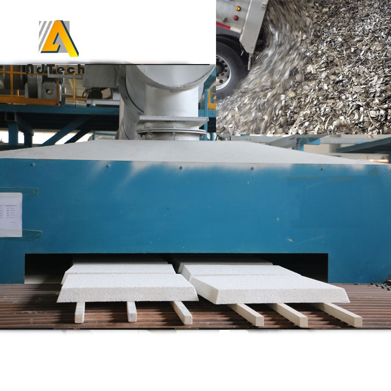 Aluminum Ingot Continuous Casting Filter Foundry