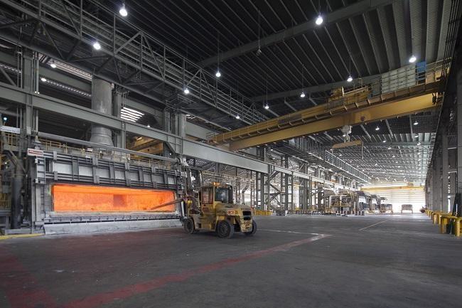 43,000 tons of solar aluminum