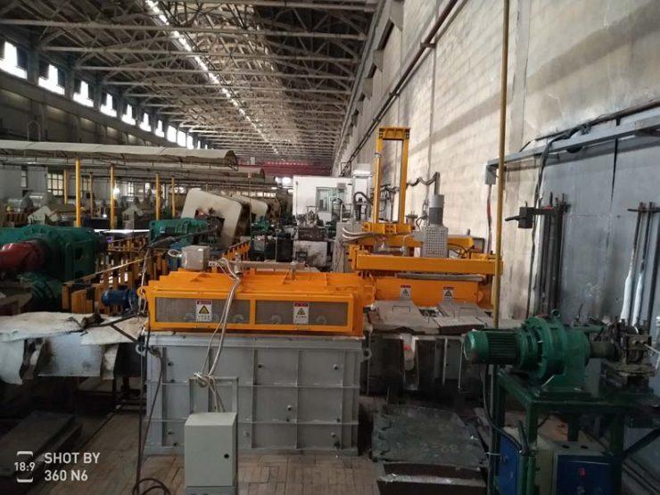 Rotary Aluminium Degassing Machine